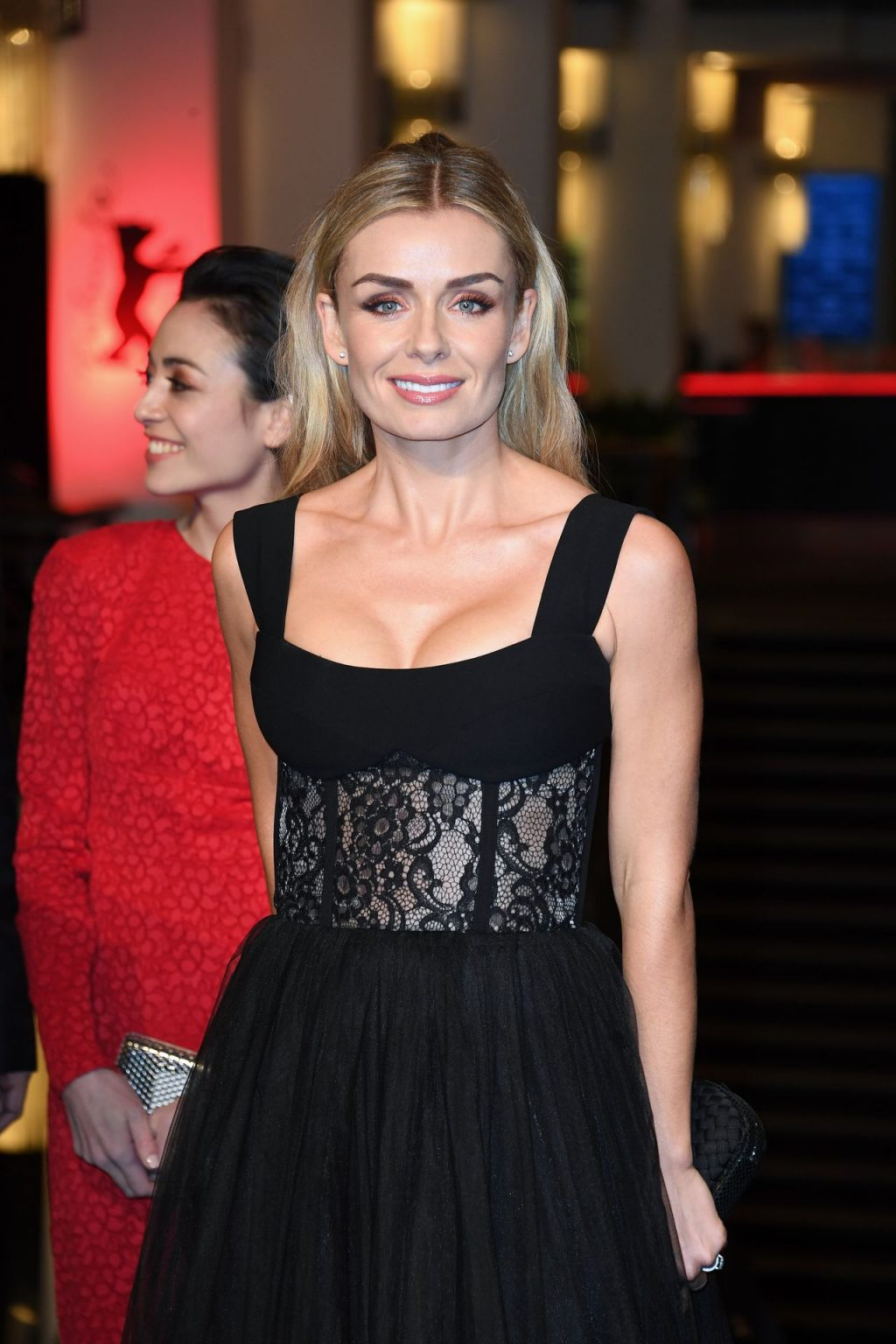 Katherine Jenkins Shows Off Her Cleavage at the Minamata Screening at the 70th Berlin Film Festival (38 Photos)