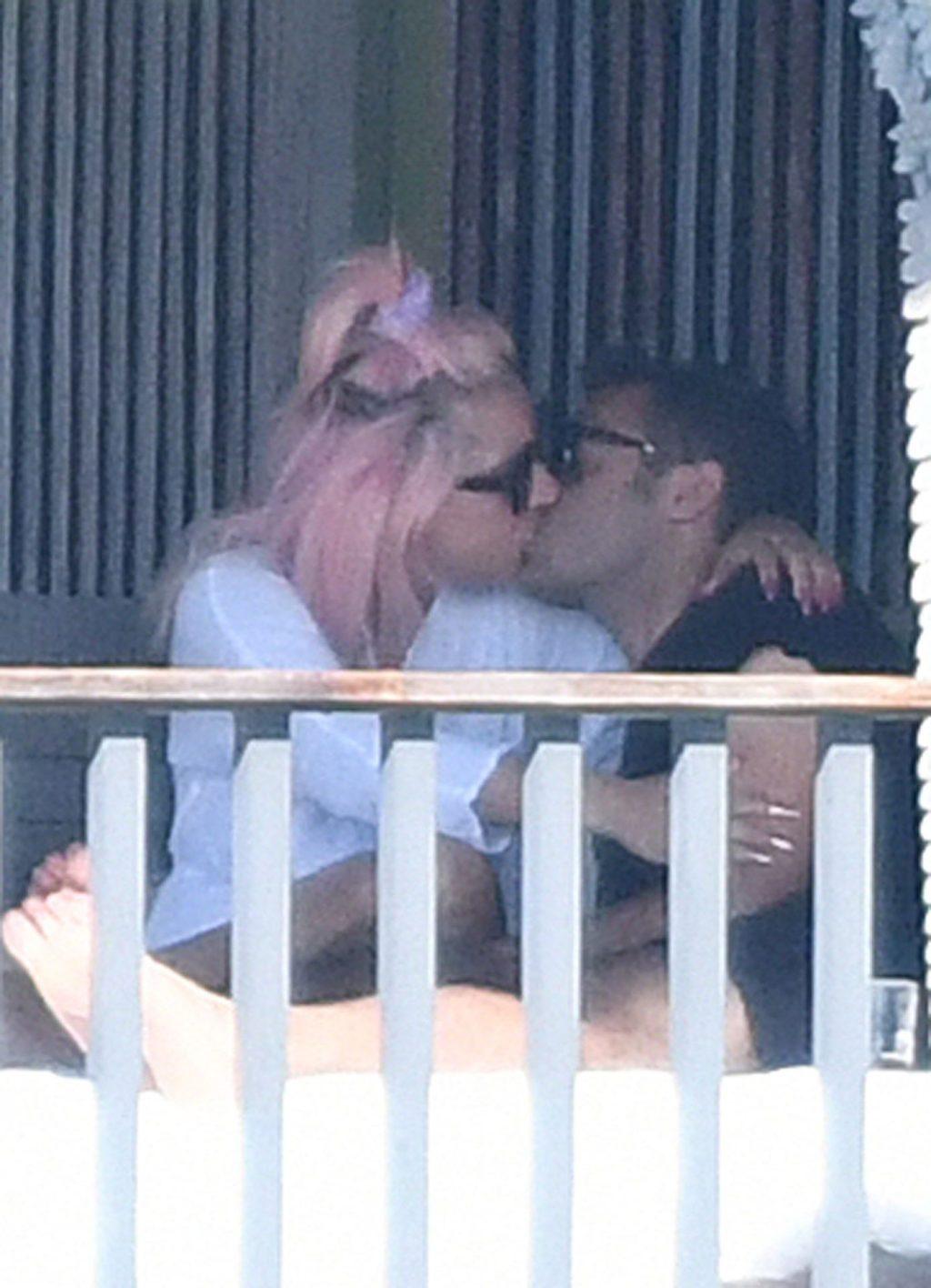 Lady Gaga Seen Kissing a Mystery Man in Miami (50 Photos)