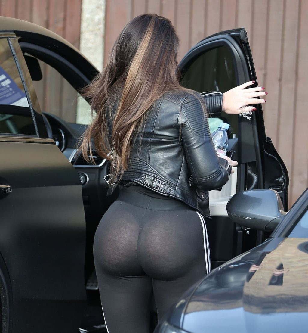 Lauren Goodger Looks Downcast as She Heads to a Meeting in Bexleyheath in Kent (17 Photos)