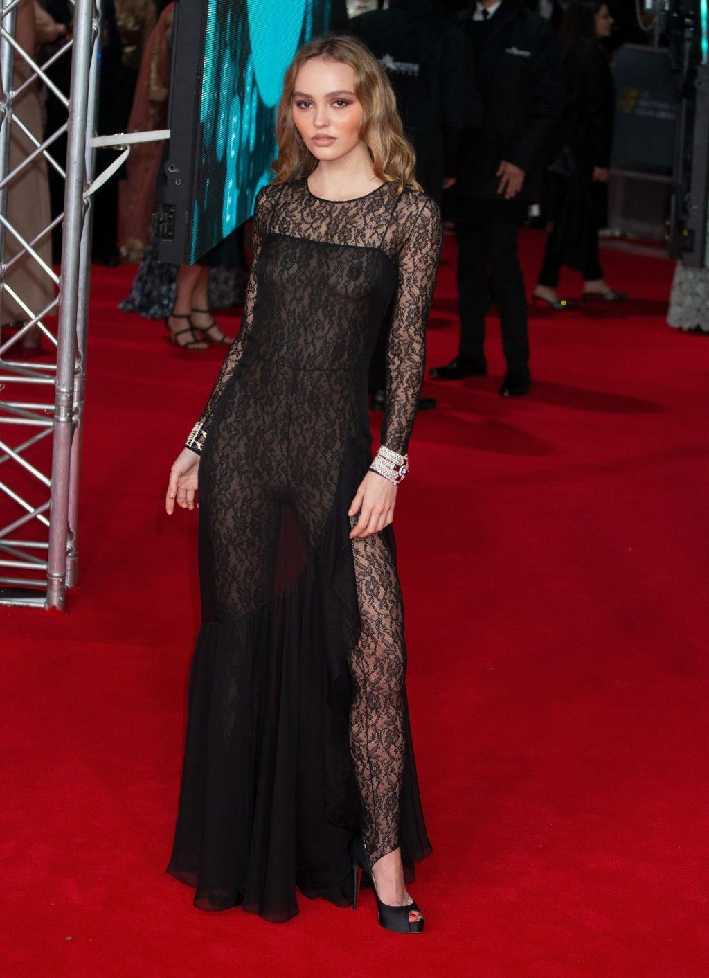 Lily-Rose Depp Attends EE Bafta Awards 2020 (147 Photos)