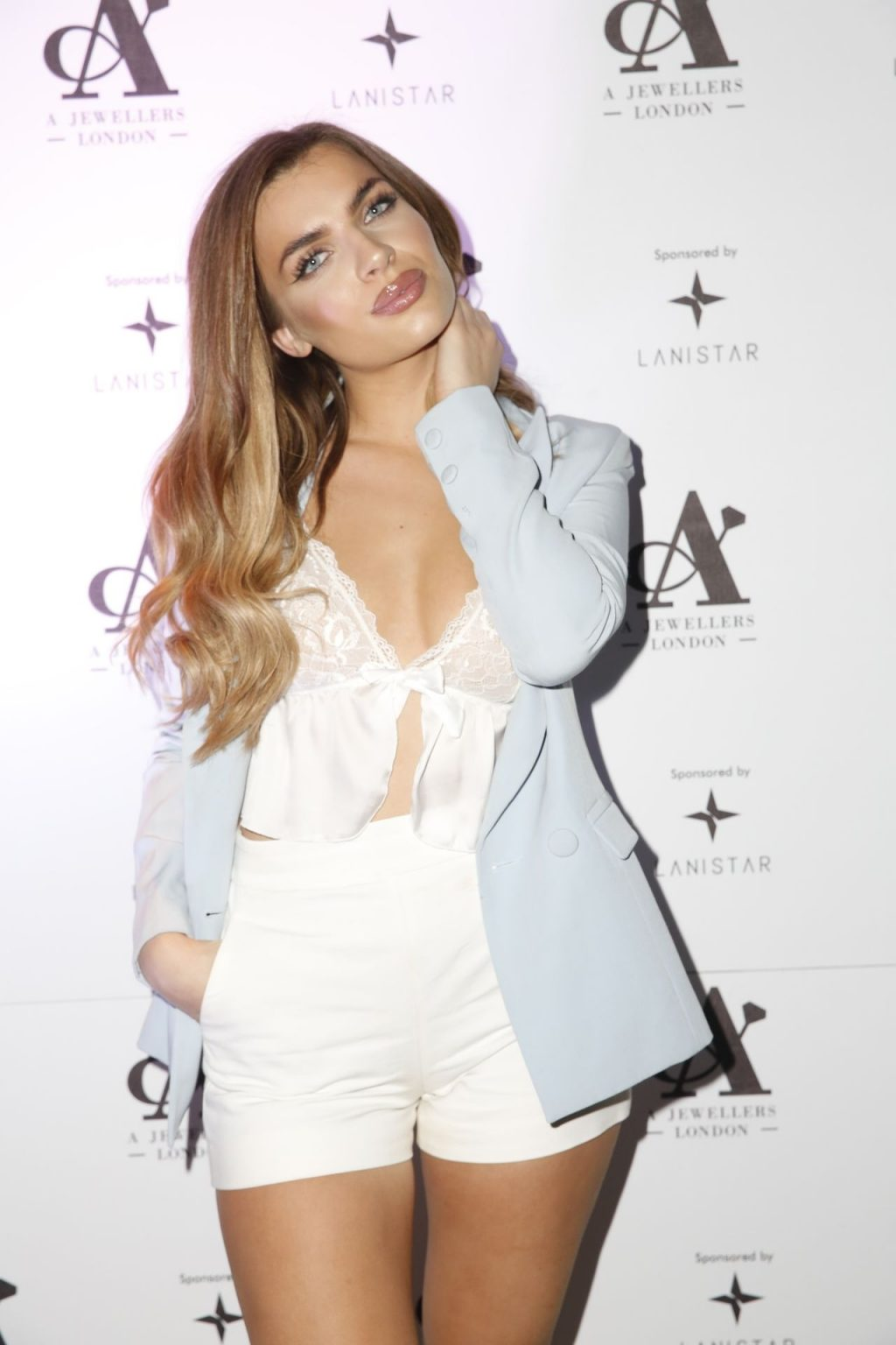 Maria Wild Wears A See-Through Top at A Jewellers London Launch (21 Photos)