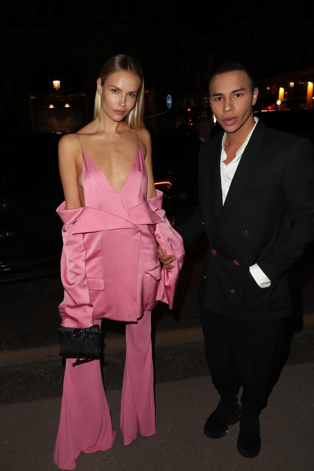 Natasha Poly Looks Hot Arriving the Harper's Bazaar Evening in Paris (5 Photos)