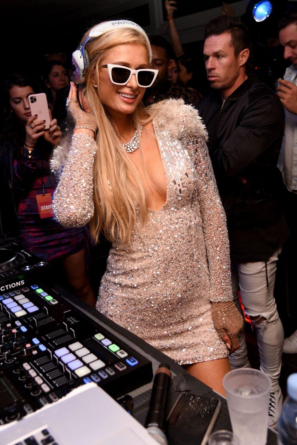 Paris Hilton Enjoys the Rolling Stone Super Bowl LIV Party (94 Photos)