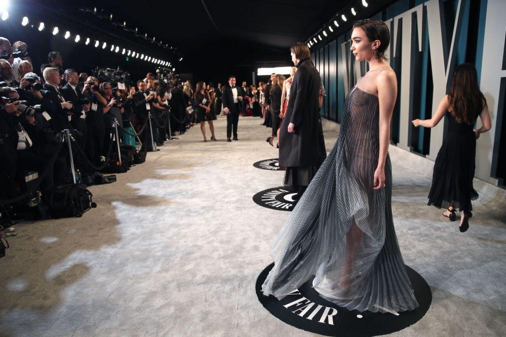 Rowan Blanchard Flaunts Her Young Figure at the Vanity Fair Oscar Party (29 Photos)