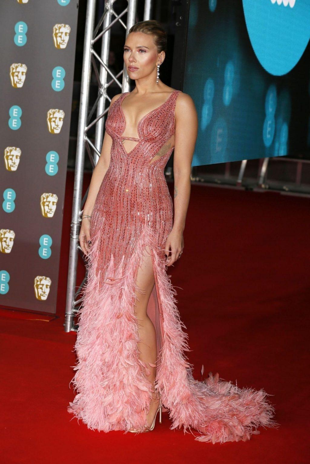 Scarlett Johansson Shines at The EE British Academy Film Awards (45 Photos)
