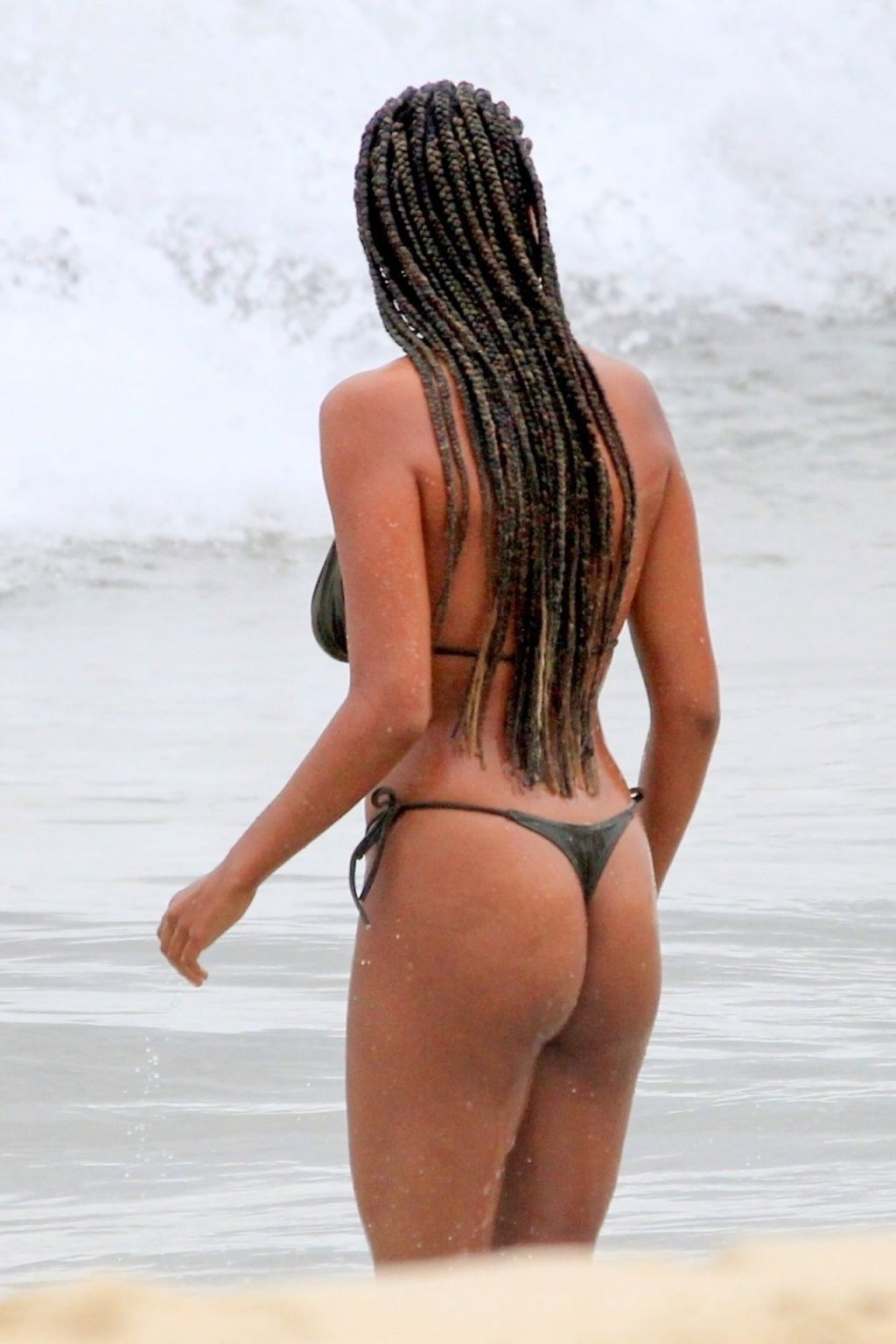 Stunning Tina Kunakey Displays New Braids and Sexy Bikini Body in Rio (46 Photos)