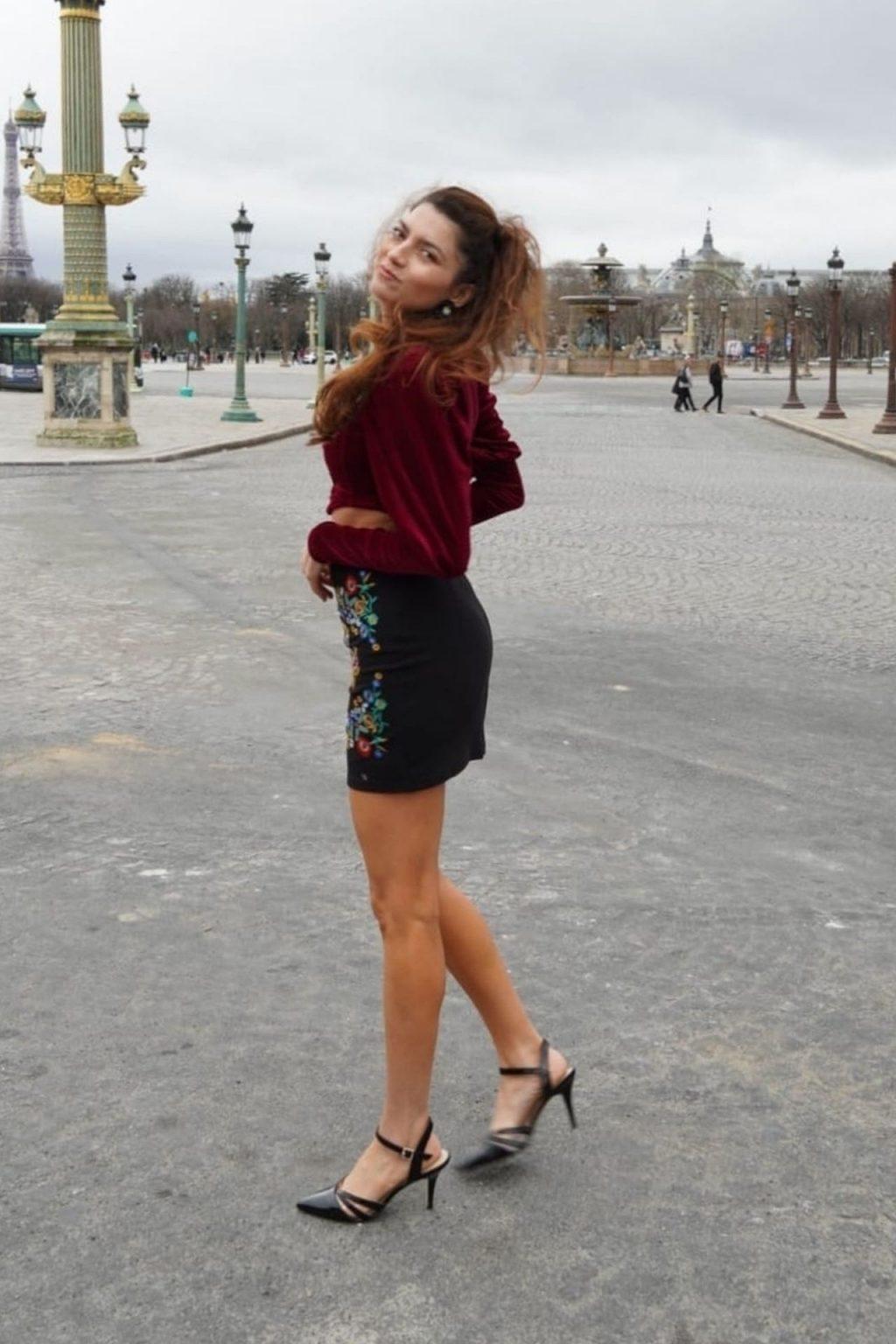 Blanca Blanco Poses on the Streets of Paris (41 Photos)