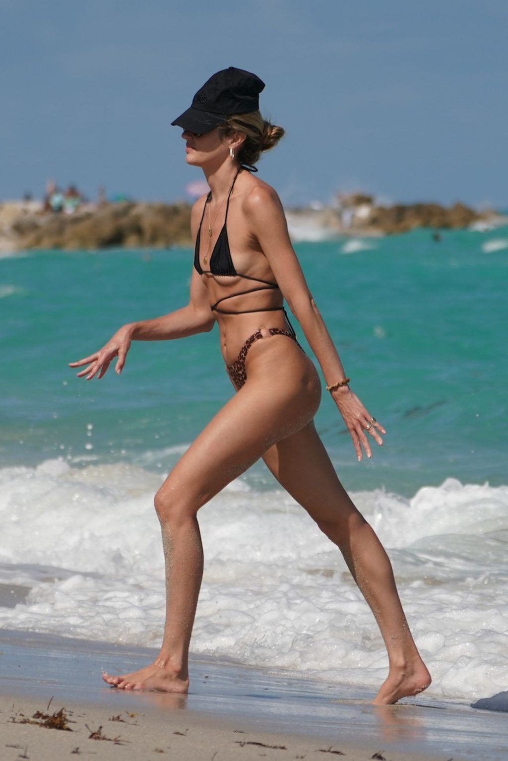 Candice Swanepoel Enjoys a Day at the Beach with Her Kids (37 Photos)