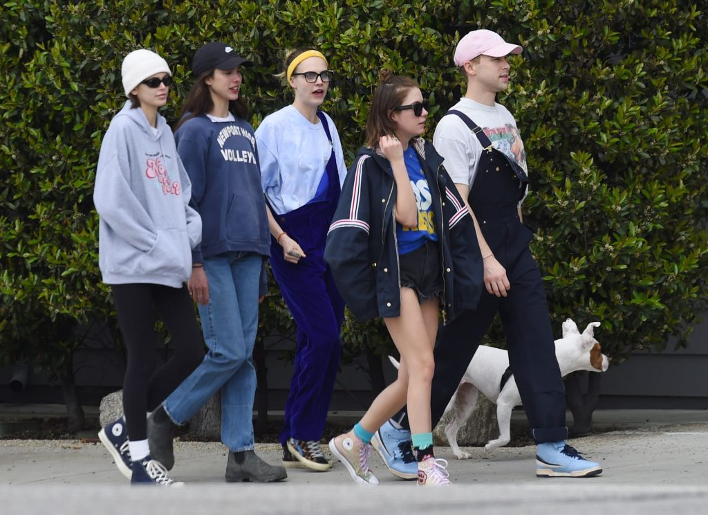 Cara Delevingne & Ashley Benson Head Out for a Walk in Los Angeles (36 Photos)