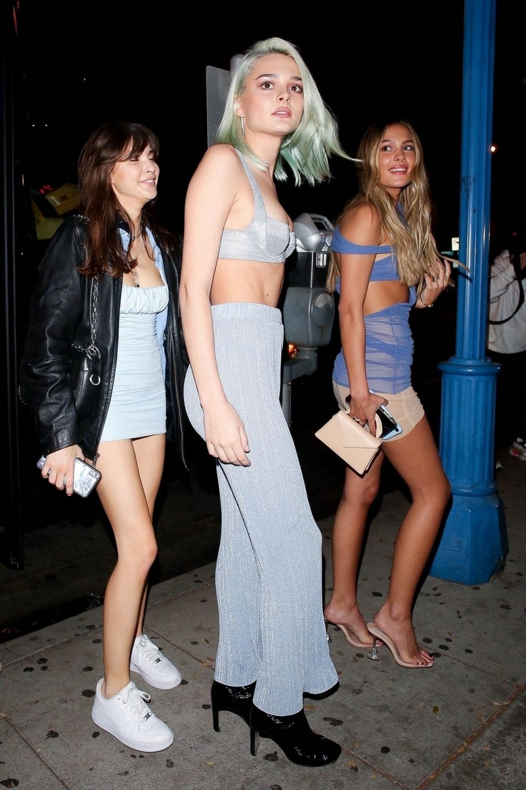 Charlotte Lawrence Arrives with Madison Beer and friends to Celebrate her Birthday in WeHo (26 Photos)