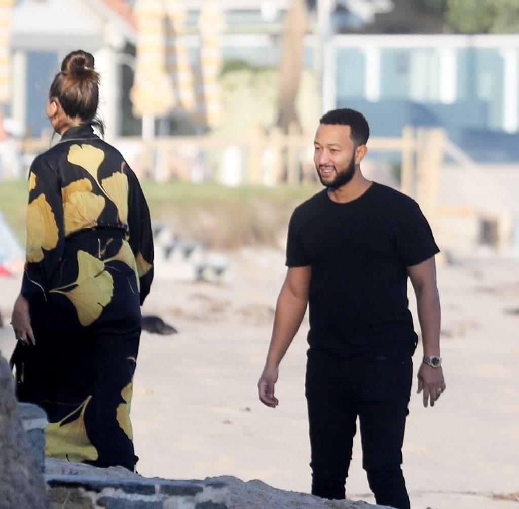 Chrissy Teigen Enjoys a Beach Day in Malibu Amid All Coronavirus Chaos (47 Photos)