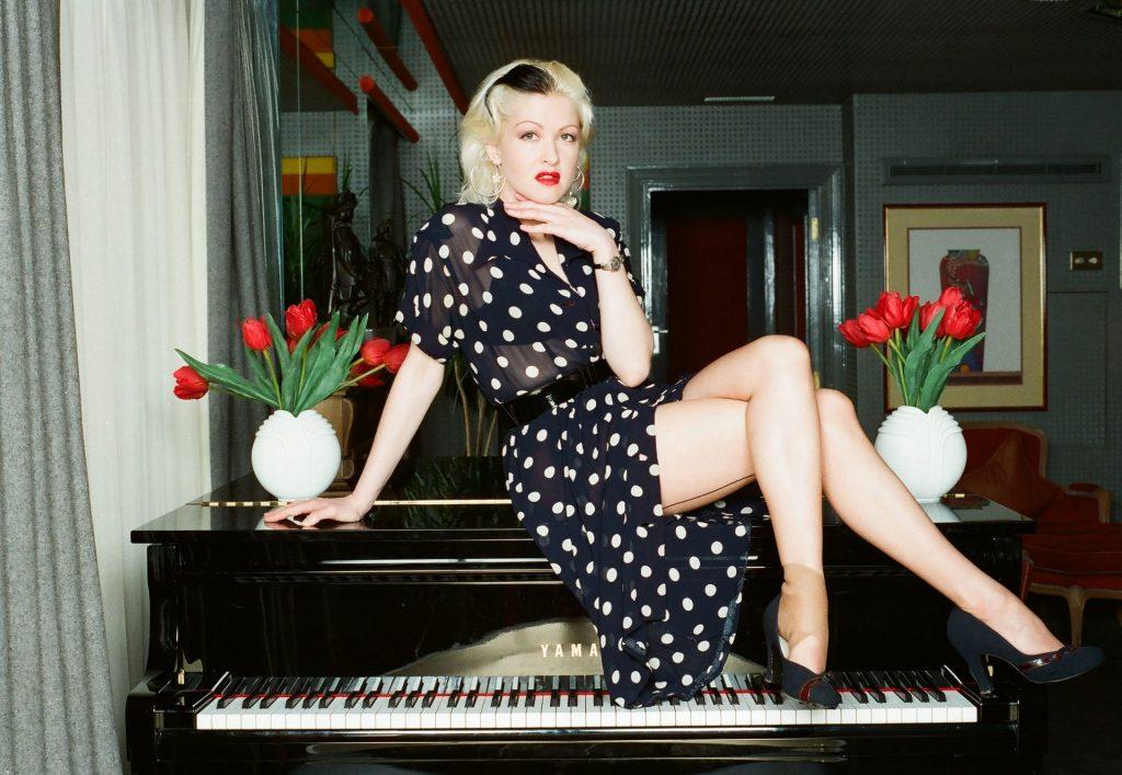 Cyndi Lauper Promotes Her Single (13 Photos)