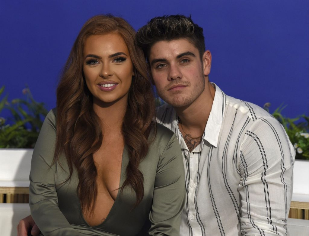 Demi Jones & Luke Mabbott Pose at I Saw It first HQ in Manchester (28 Photos)