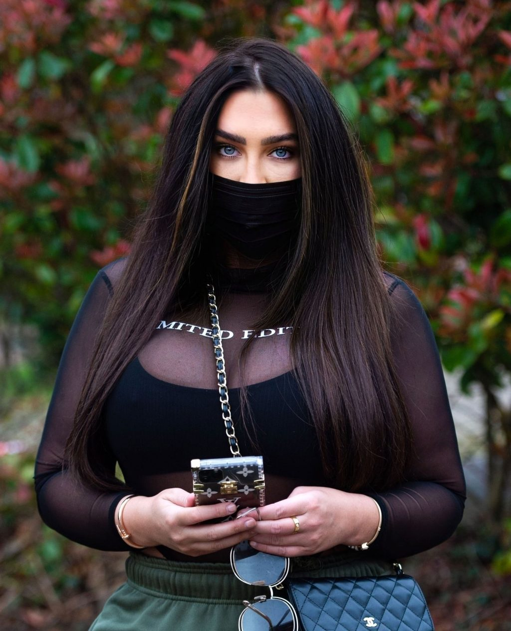 Lauren Goodger Wears a Facial Mask to Protect Against Coronavirus (15 Photos)