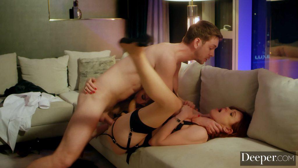 Maitland Ward & Riley Reid Nude – Secretary (10 Photos + GIFs & Video)