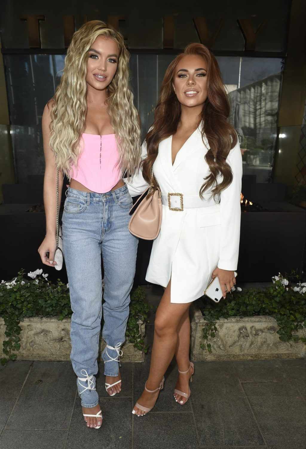 Molly Smith & Demi Jones Pictured Arriving at The Beauty Works Online Event (21 Photos)