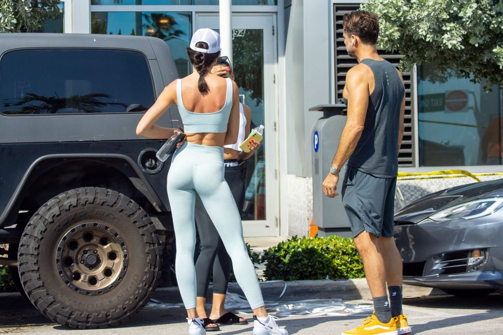 David Charvet Spotted Leaving a Workout with his Fitness Model Girlfriend in Miami (15 Photos)