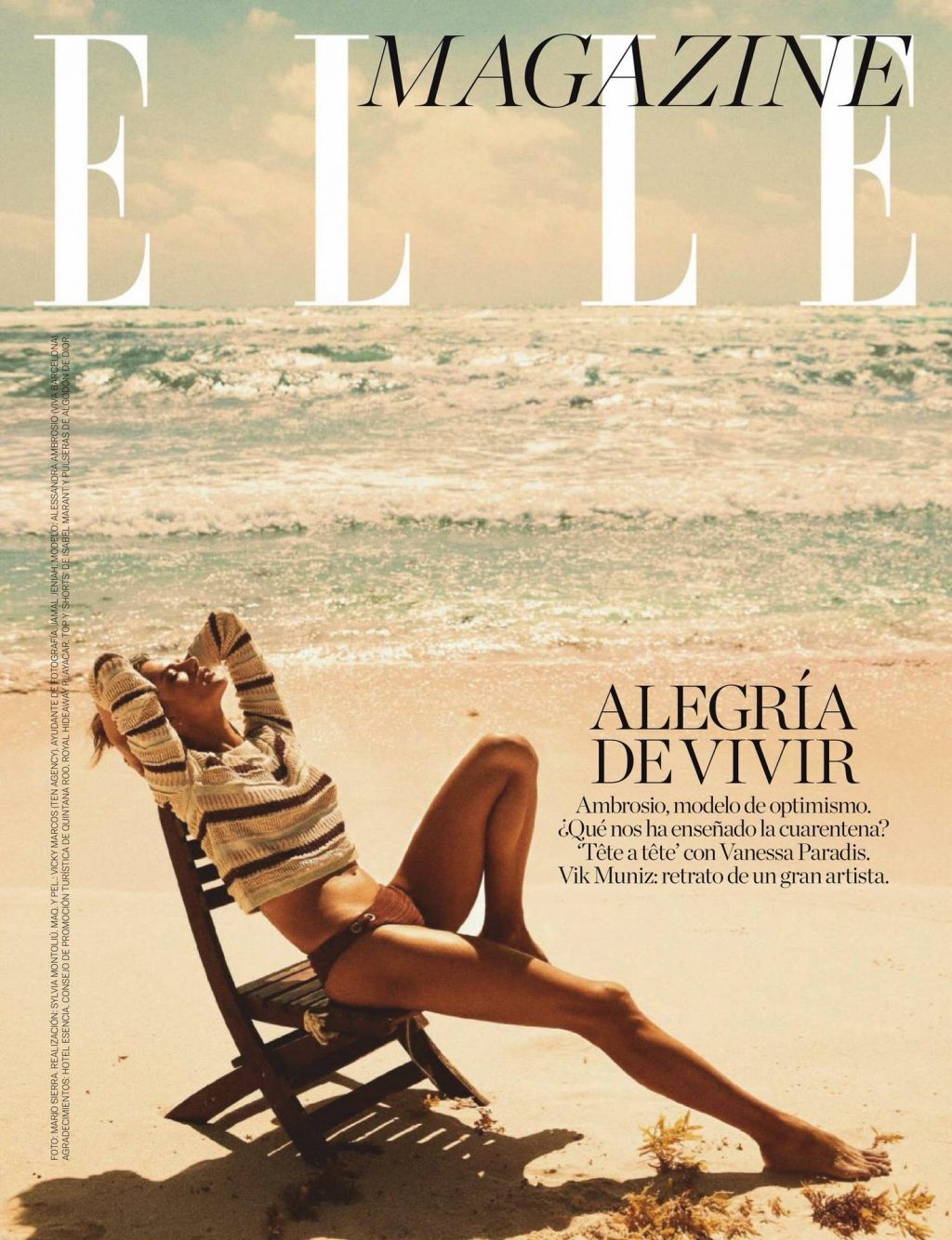 Alessandra Ambrosio Sexy – ELLE Spain (25 Photos)
