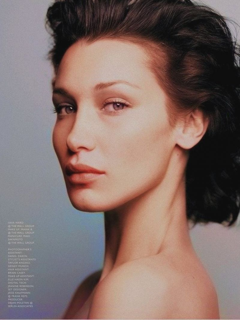 Bella Hadid Poses for Vogue's April Issue (21 Photos)