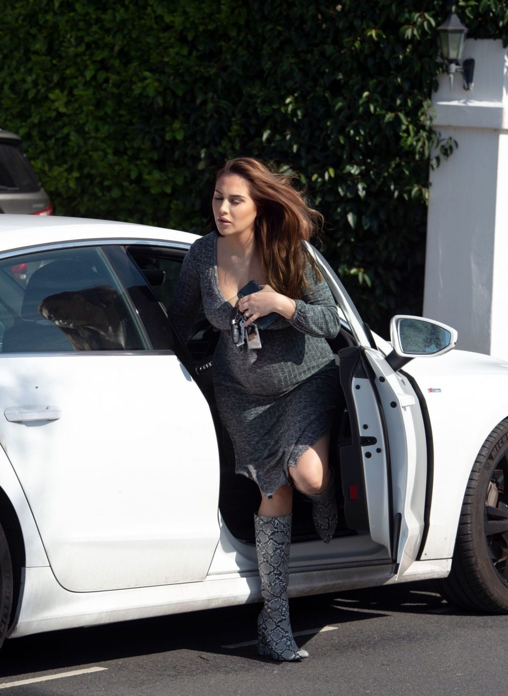 Sexy Chloe Goodman is Seen Leaving Her House in London (16 Photos)