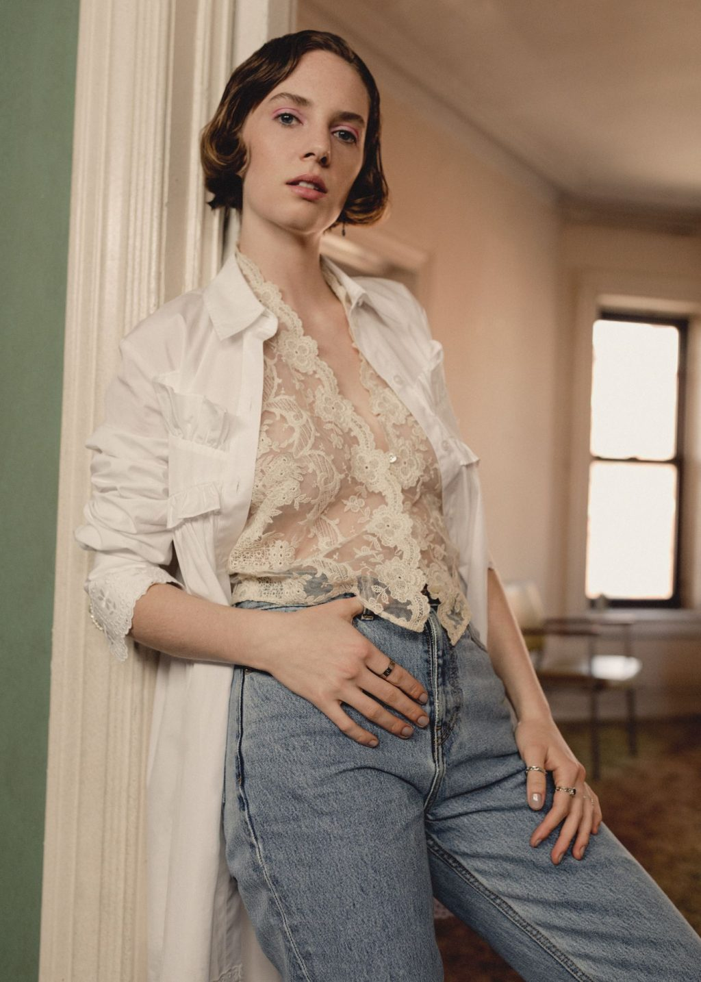Maya Hawke See Through & Sexy – Nylon (8 Photos)