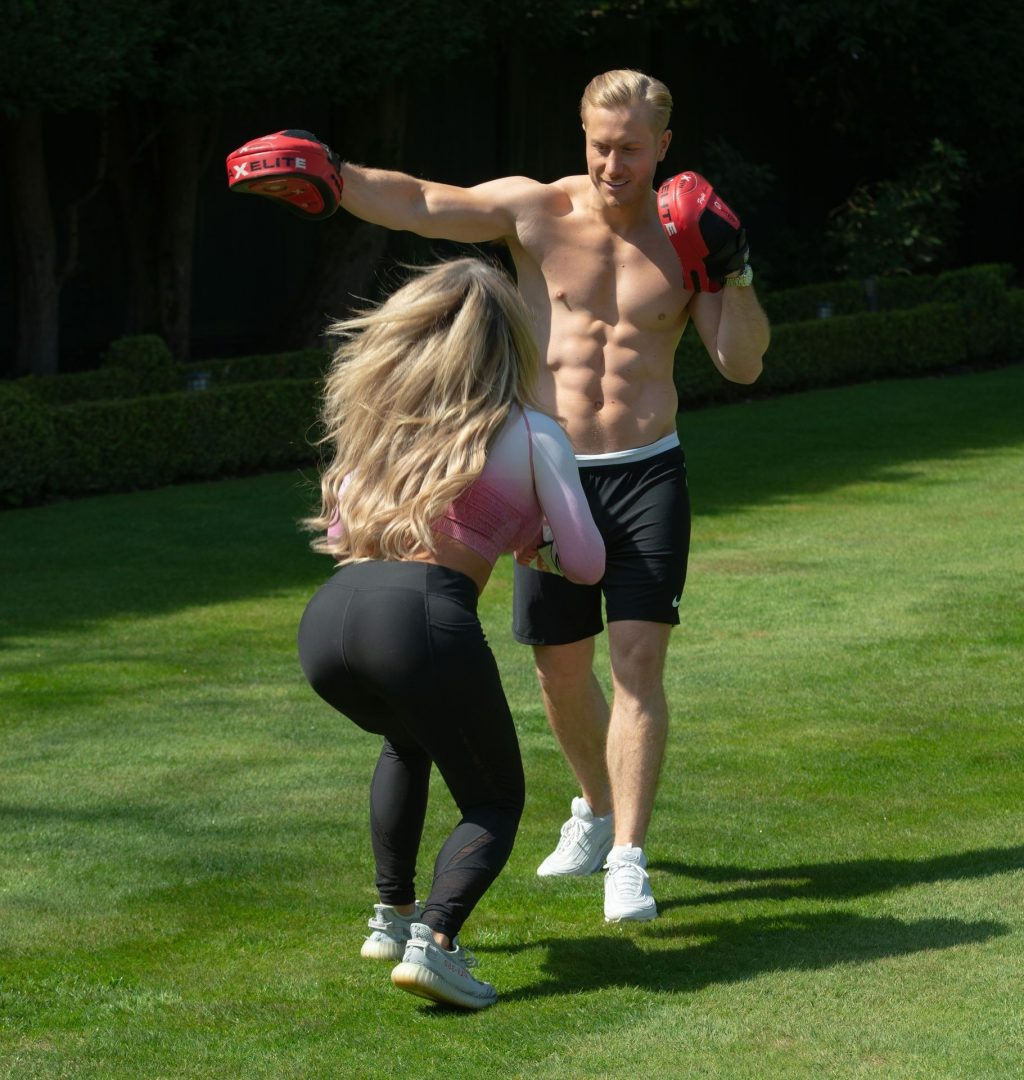 Bianca Gascoigne & Kris Boyson Are Seen Working Out in South London (75 Photos)