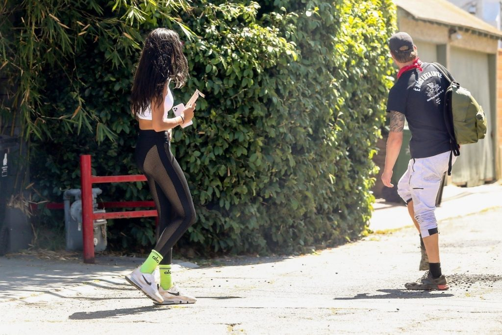 Joel Kinnaman & Kelly Gale Wrap Up a Walk on Her 25th Birthday (17 Photos)