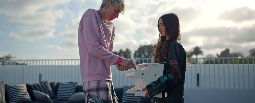 Megan Fox & Machine Gun Kelly Steam Up the Screen in His New Music Video Bloody Valentine (40 Pics + Video)