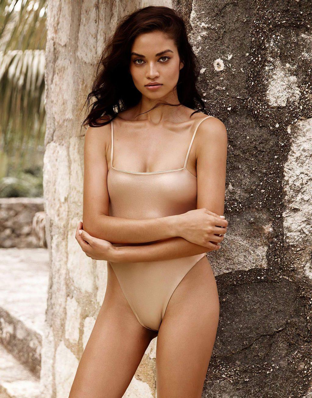 Shanina Shaik Shows Her Butt for Beach Bunny Swimwear Collection (8 Photos)