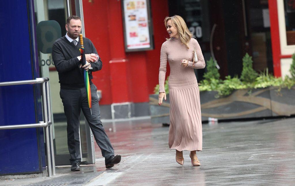 Amanda Holden Goes Braless in London (80 Photos)