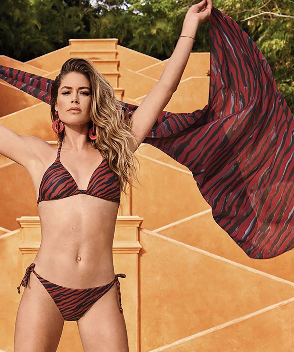 Doutzen Kroes Presents Her New Sexy Swimsuit Campaign (7 Photos)
