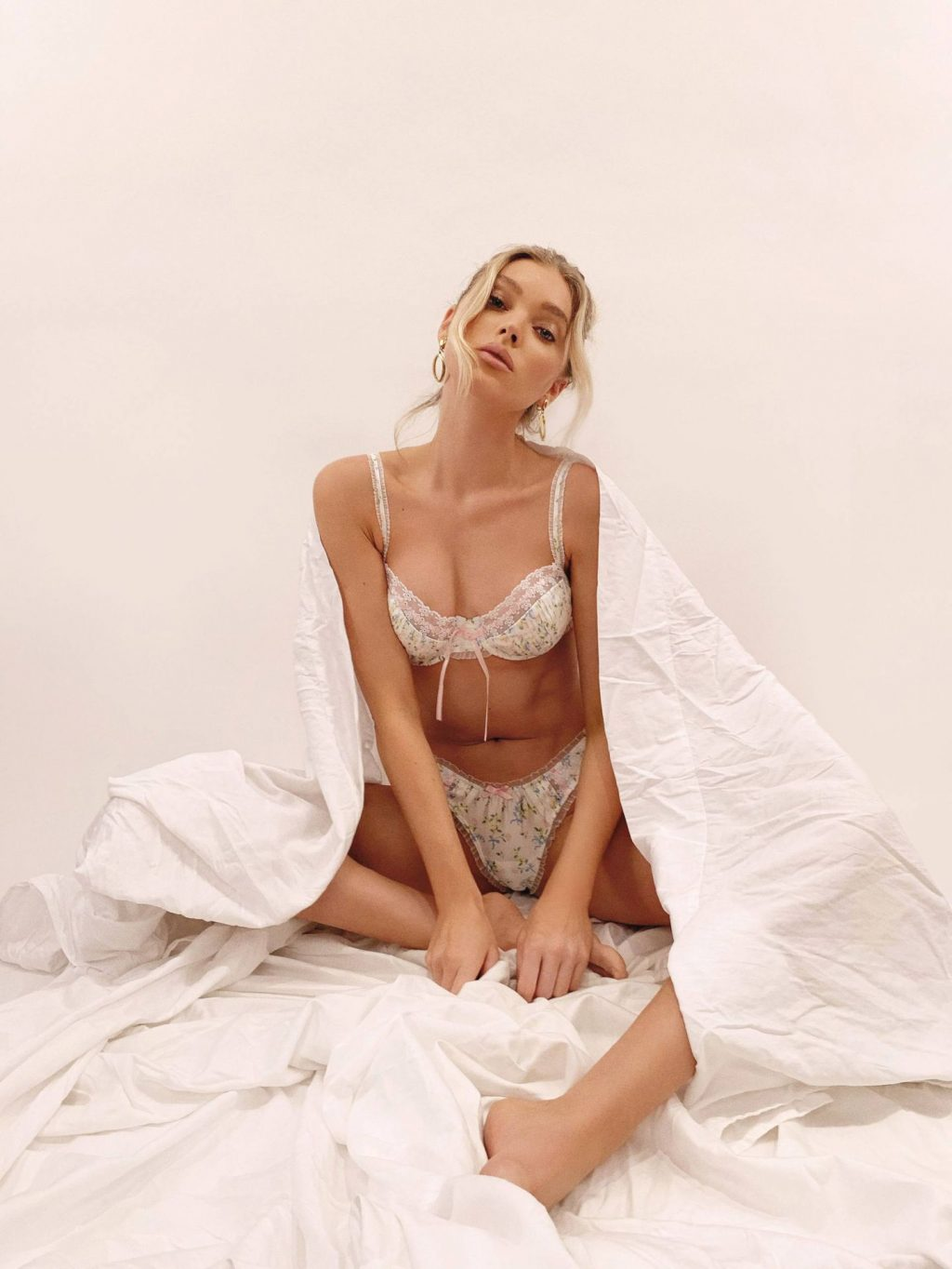Elsa Hosk Shows Off her Body in a New Advertising Campaign (18 Photos)
