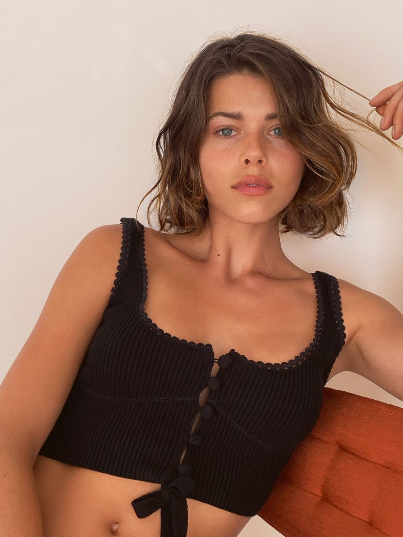 Georgia Fowler Poses for Victoria's Secret's For Love & Lemon Campaign (8 Photos)