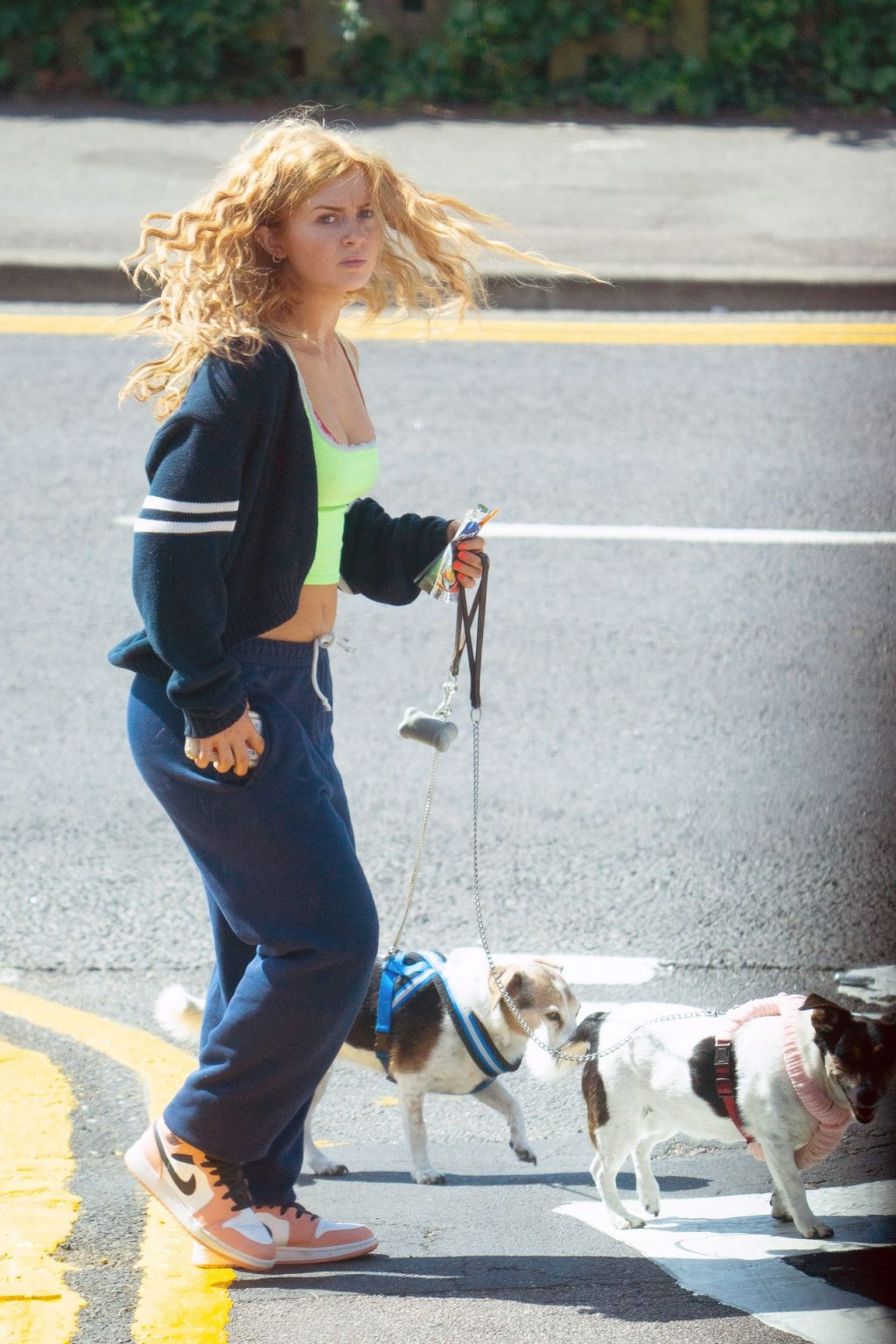 Maisie Smith Is Seen Out Walking Her Dogs (21 Photos)