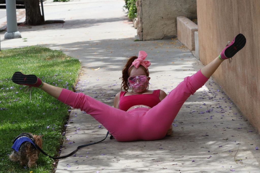 Phoebe Price Goes All Pink for a Workout (30 Photos)