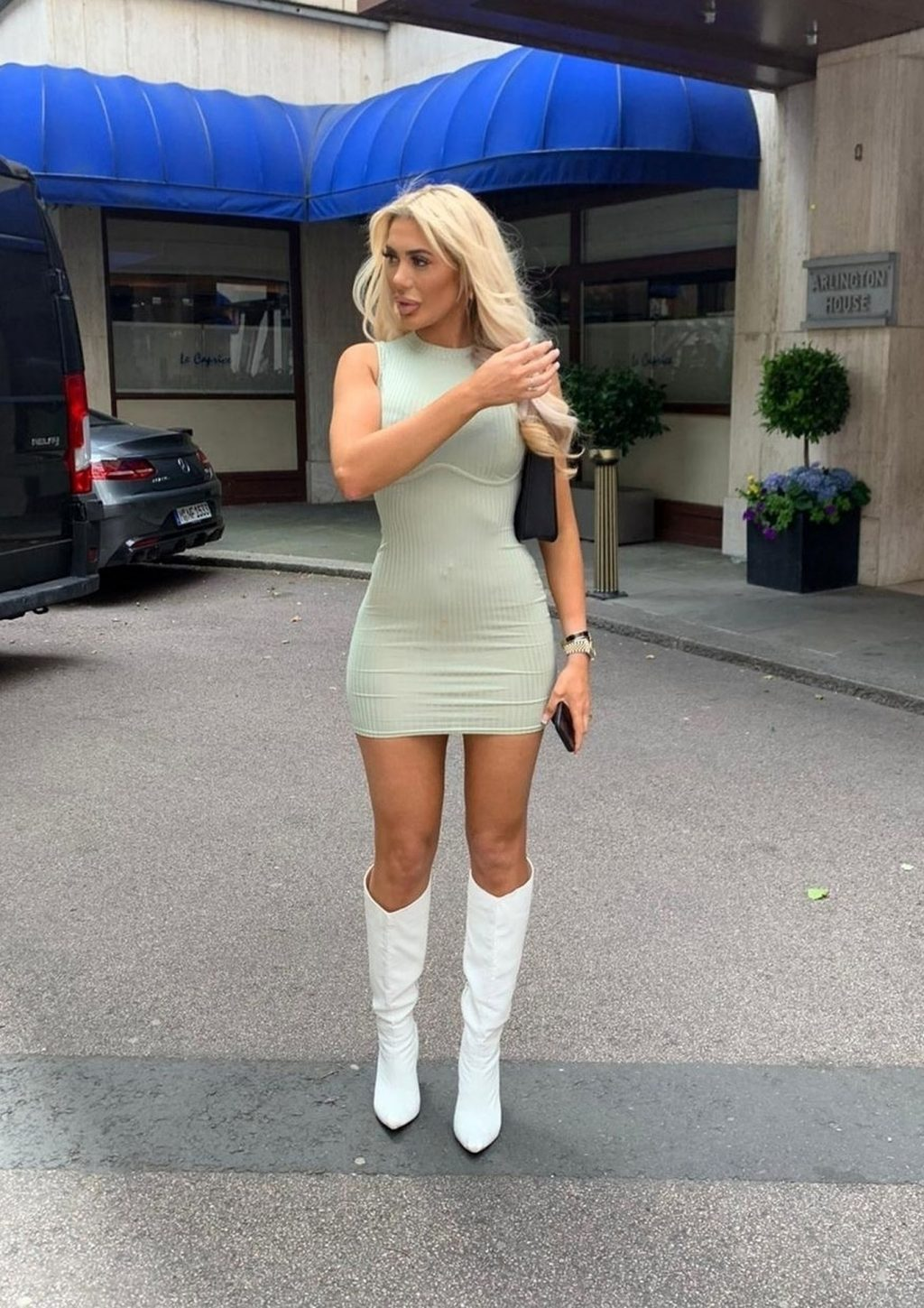 Sexy Chloe Ferry Is Seen in London (24 Photos)