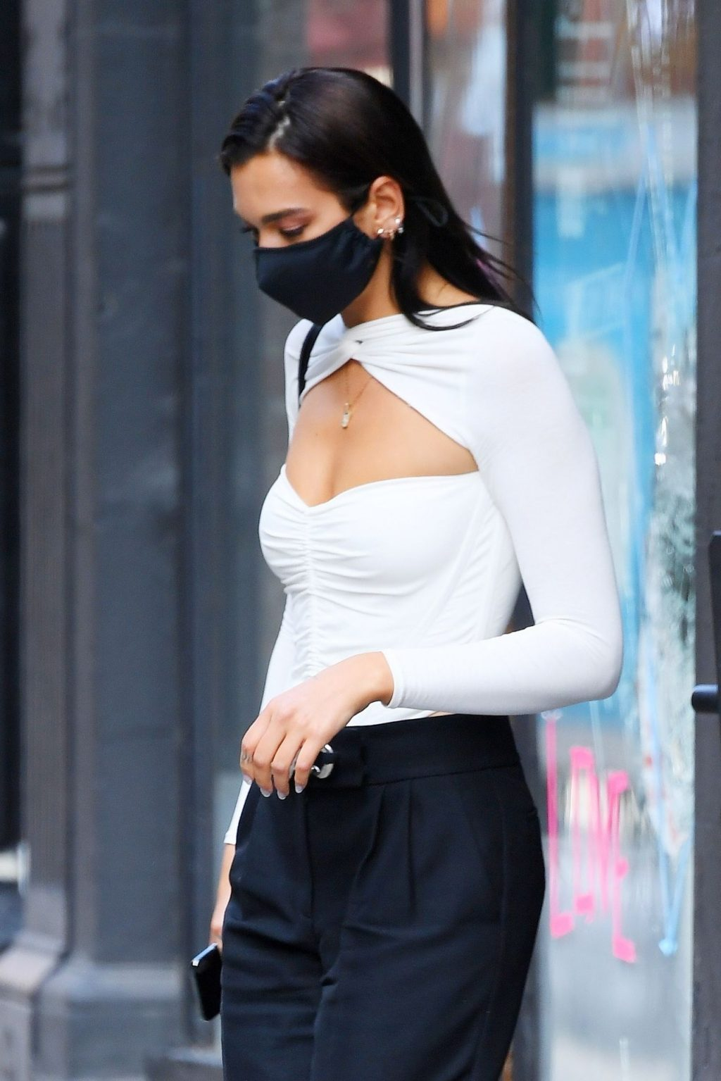 Dua Lipa Steps Out From a Studio in SoHo (39 Photos)