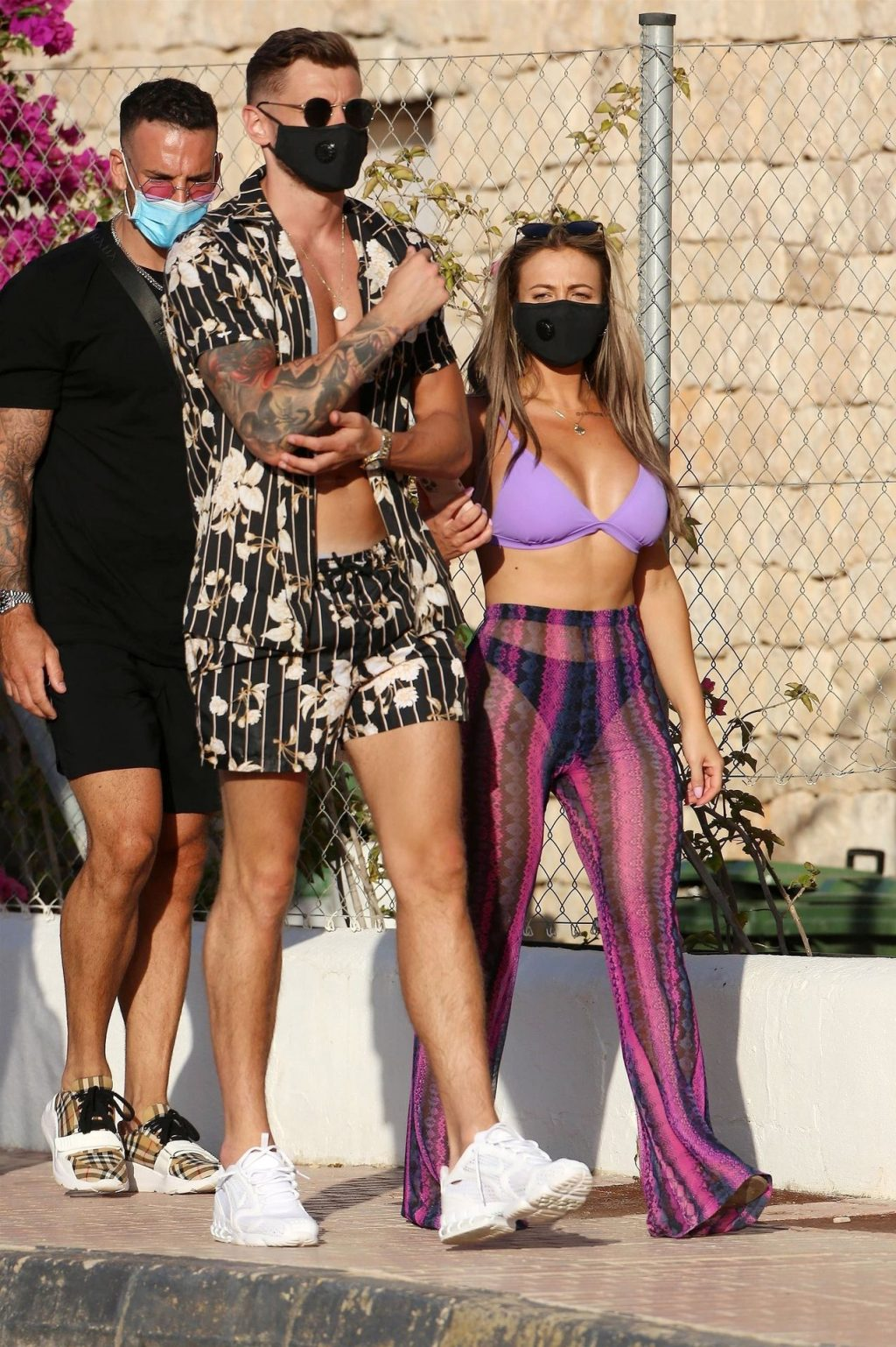 Holly Hagan & Jacob Blyth Are Seen in Ibiza (45 Photos)