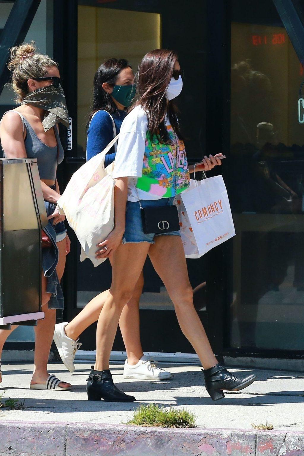 Nina Dobrev Shows Off Her Sexy Legs on a Trip to Erewhon Market (19 Photos)