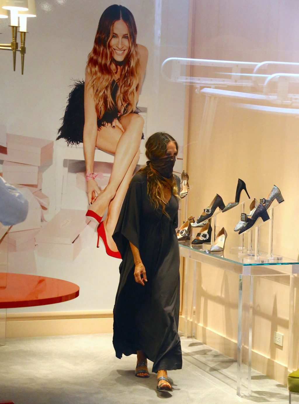 Sarah Jessica Parker Opens a New Store in New York (30 Photos)
