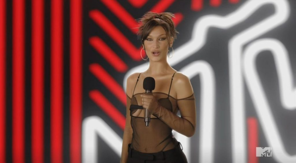 Bella Hadid Stuns at the 2020 MTV VMAs in NYC (30 Photos + Video)