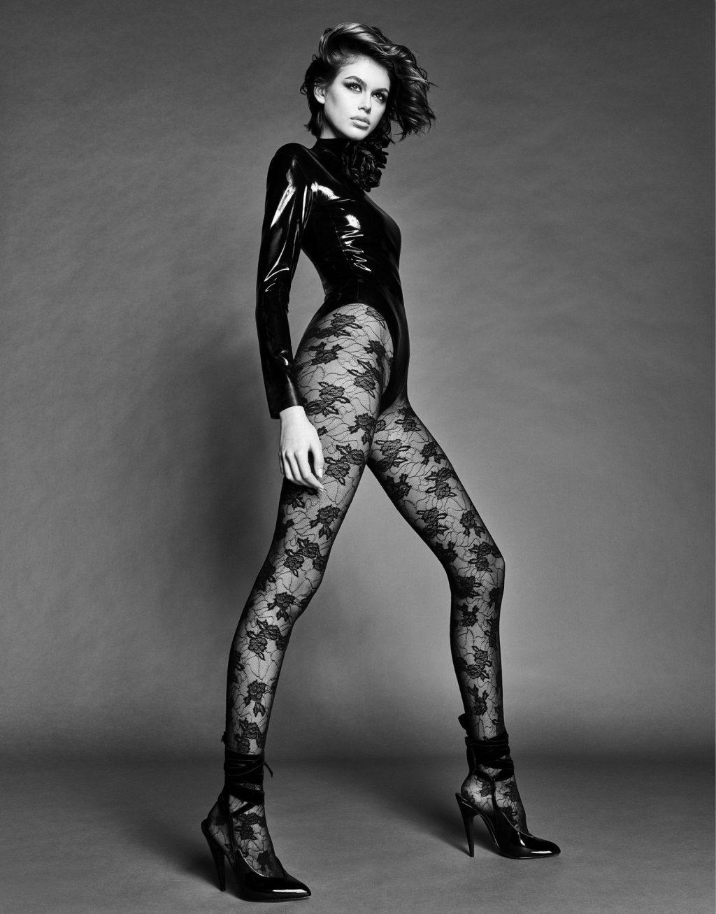 Kaia Gerber Nude & Sexy – Vogue Japan (9 Photos)