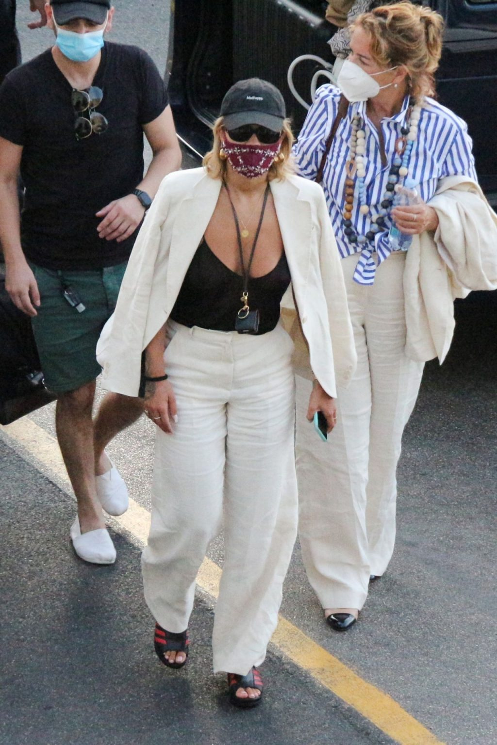 Rita Ora is Pictured Braless in Capri (26 Slightly Nude Photos)