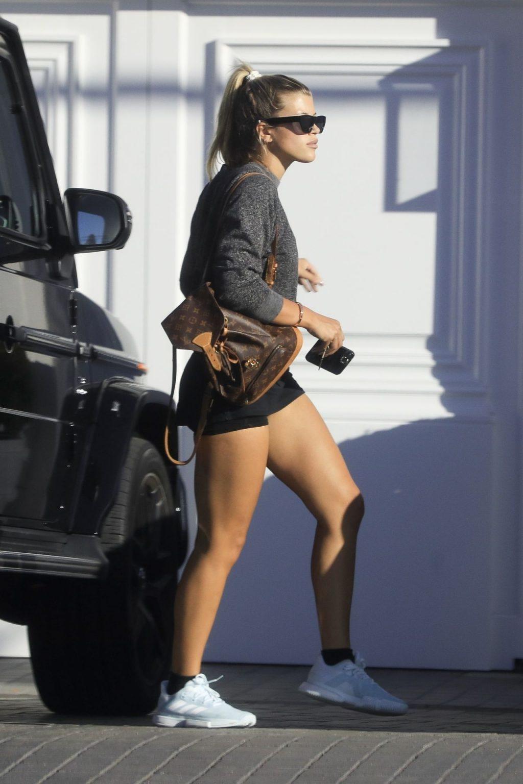 Leggy Sofia Richie Arrives at a Friend's House After a Tennis Session (34 Photos)
