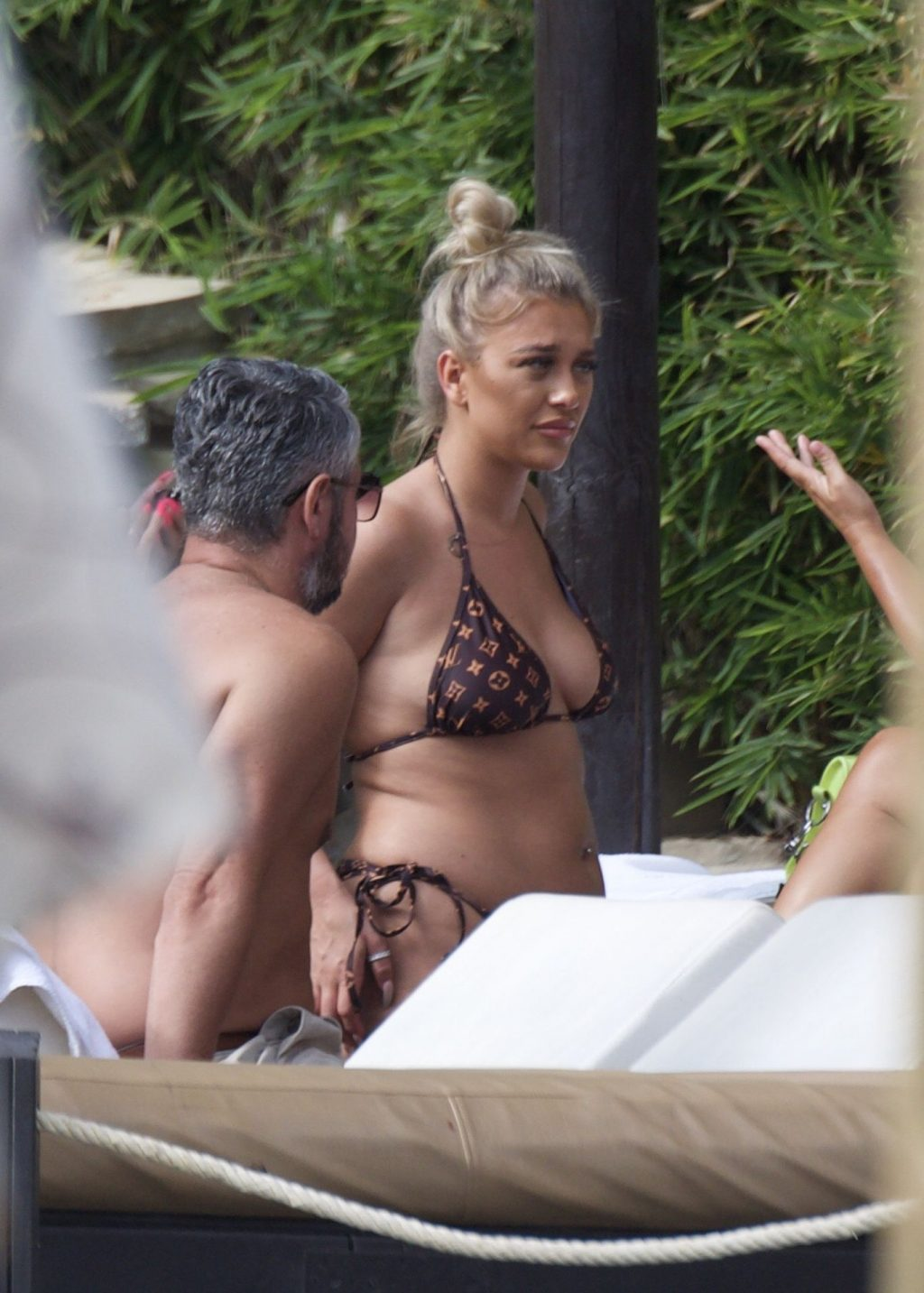Bethan Kershaw Shows Off Her Tits & Butt in Marbella (4 Photos)