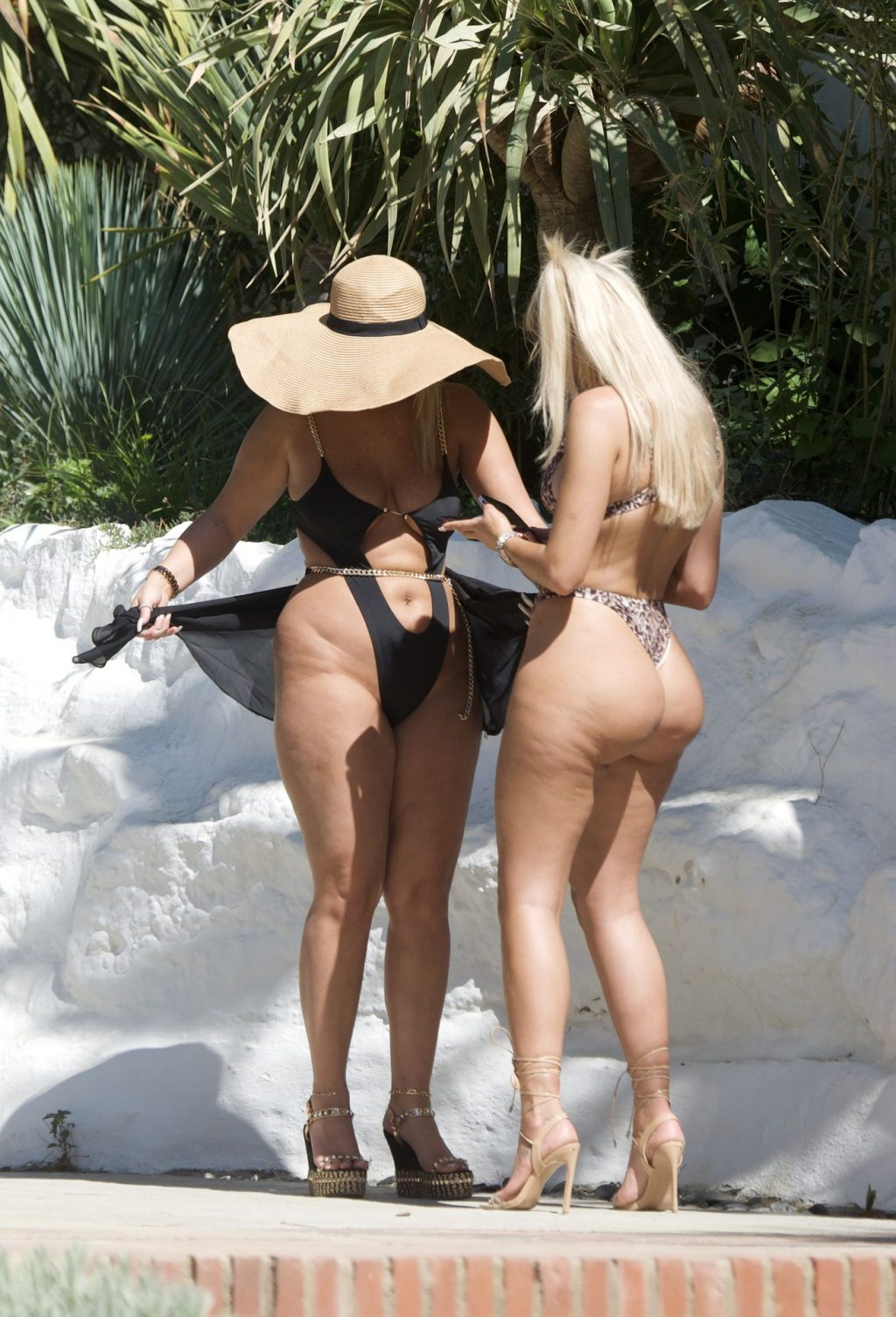 Chloe Ferry & Bethan Kershaw Get the Temperatures Soaring Out on Their Holiday in Marbella (65 Photos)