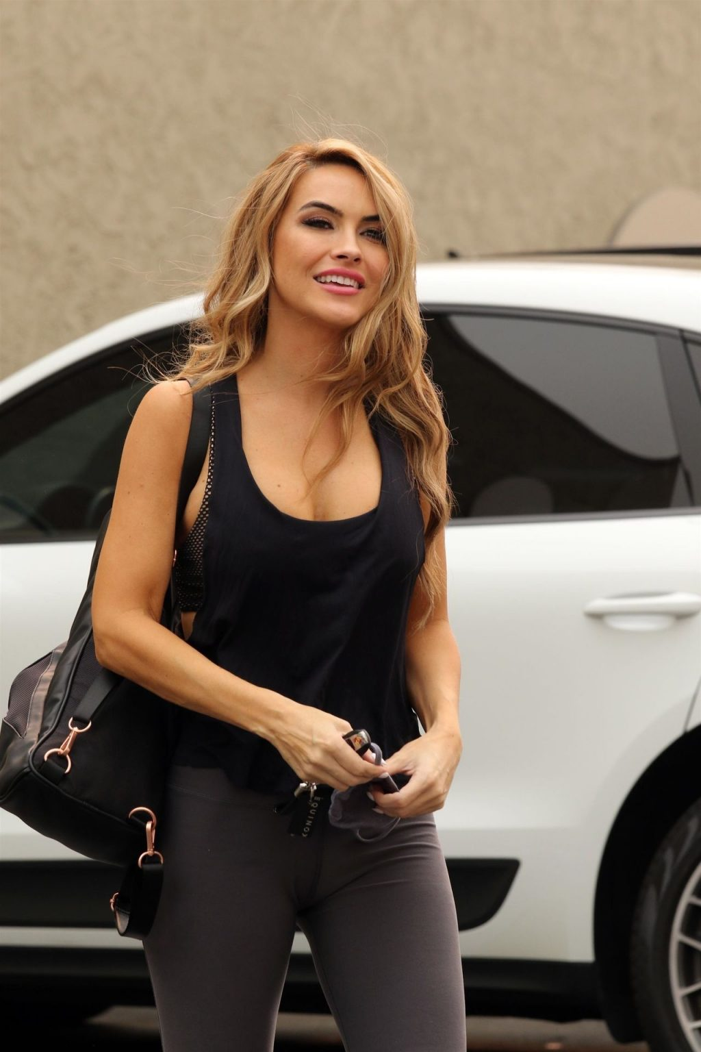 Chrishell Stause Shows Off Her Cleavage in LA (35 Photos)