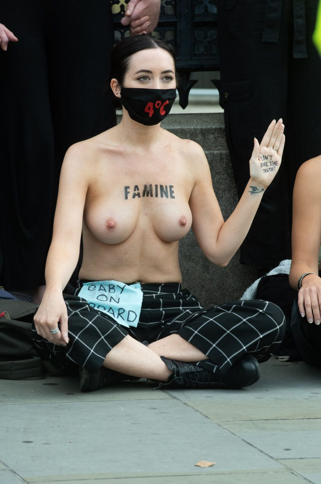 Extinction Rebellion Parliament Protest (30 Nude Photos)