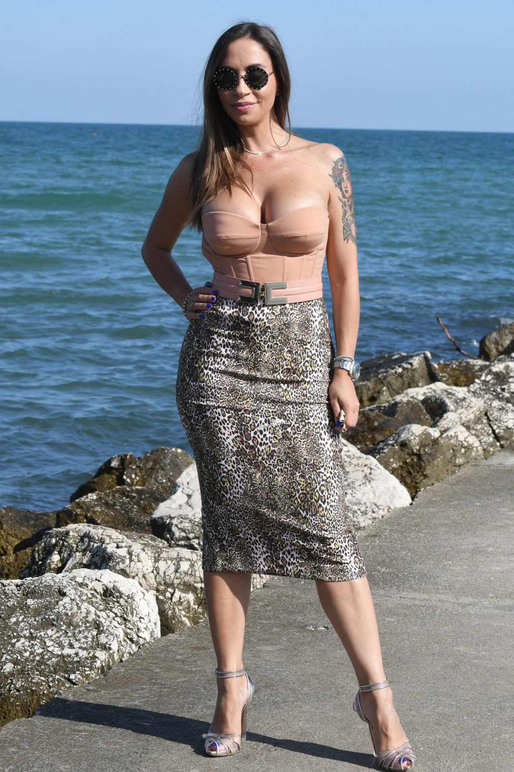 Malena La Pugliese Displays Her Boobs at the 77th Venice Film Festival (64 Photos)