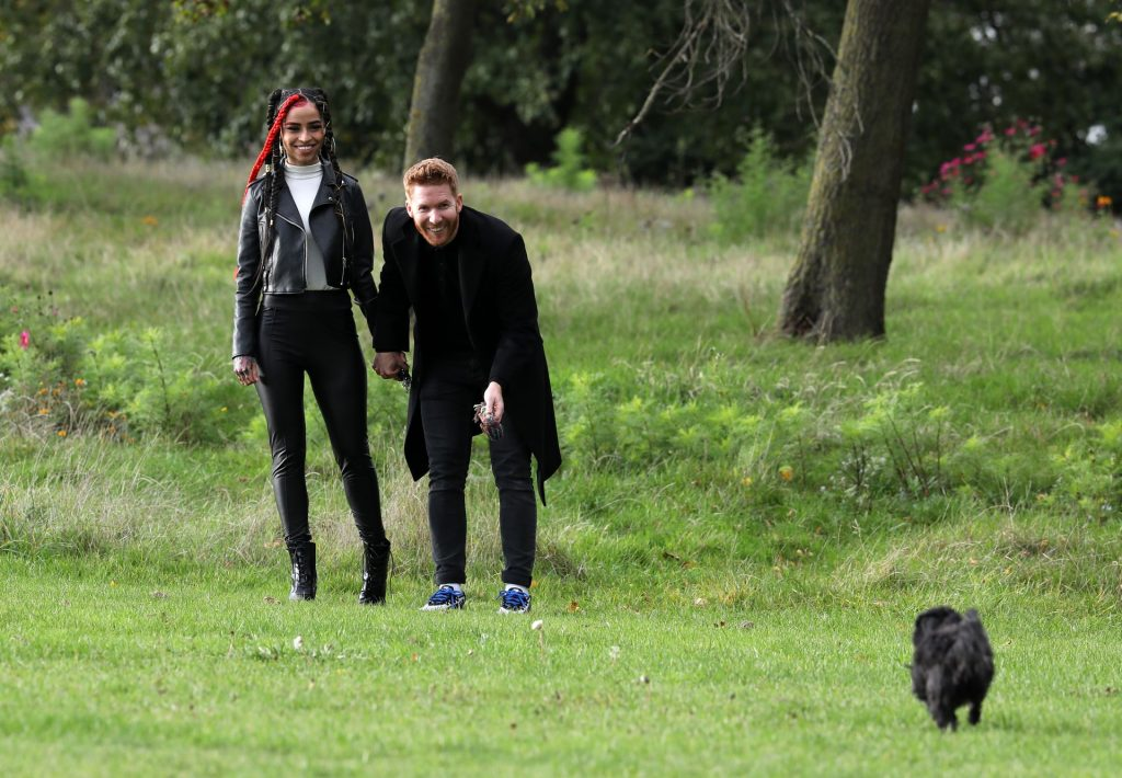 Neil Jones & Luisa Eusse are Seen Together in London (25 Photos)